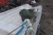 udlegning af båd med motor