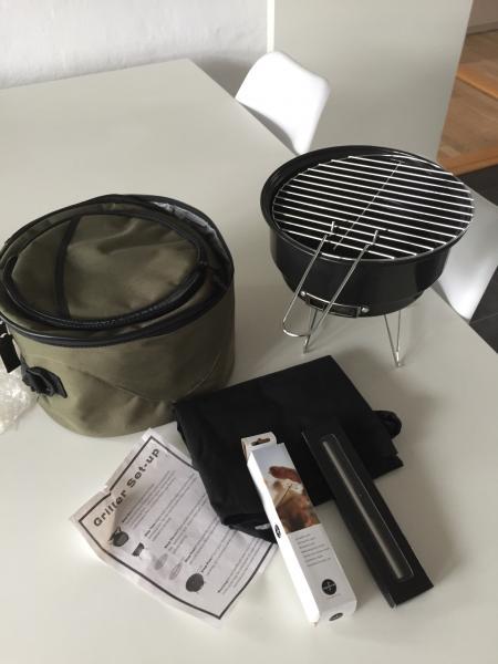 Transportabel grill