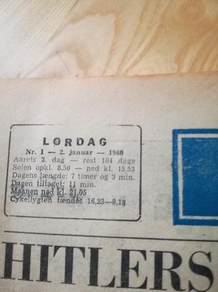 Skive avis 1960