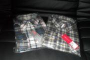 2 Skovmandsskjorter str. XL
