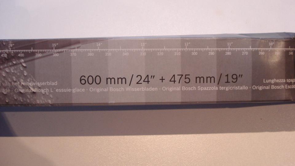 Bosch viskerblade