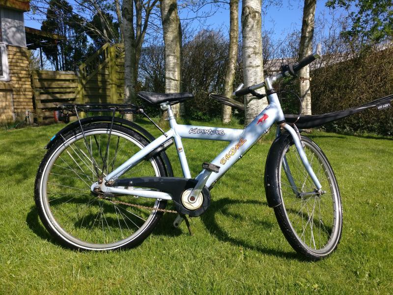 24″ Kildemoes børnecykel 3 gea