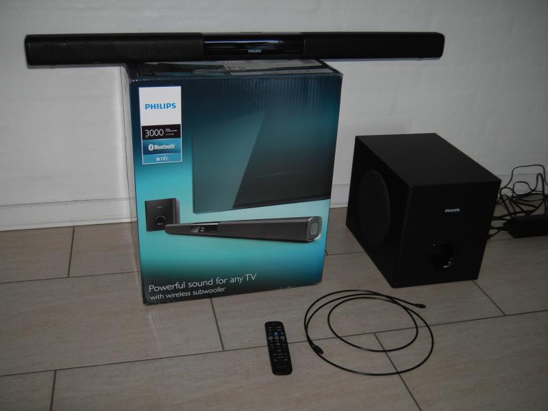 Philips Soundbar, som ny