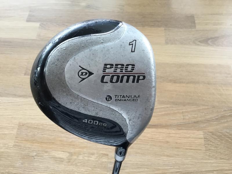 Golf, Dunlop driver sælges.