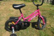 Pink pigecykel 12″ – 2-4 år