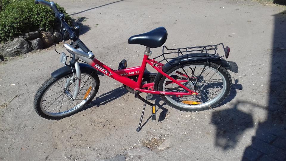 "flot 20 "" pige cykel"