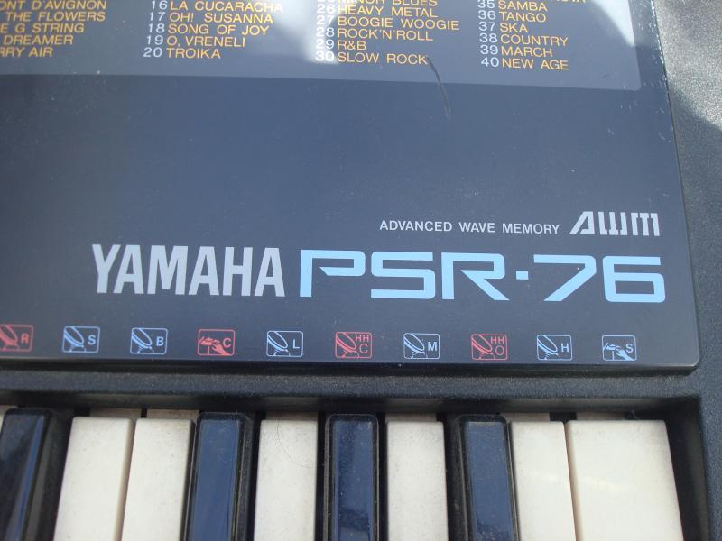 Yamaha psr-76