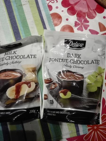 Chokoladefonduesæt SÆLGES