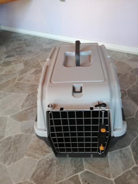 Transport kasse til hund/kat - Solsikkevej 118 - Mål er H35*L55*B35 Brugt 2 gange - Solsikkevej 118