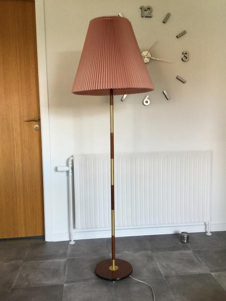 Teak lampe