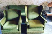 Velour sofasæt fra 1973
