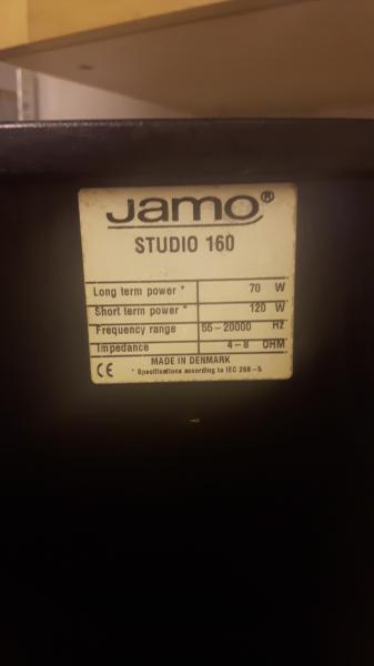 højtaler jamo + technics div
