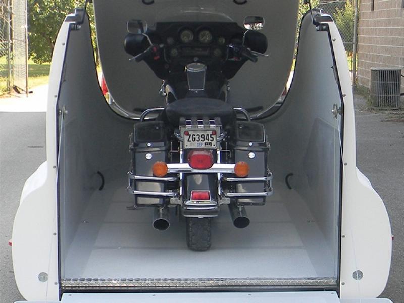 Streamline Flip Top Motorcykel