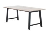 Spisebord eg/sort