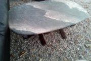 marmor sofa bord