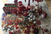 Billigt julepynt sælges samlet