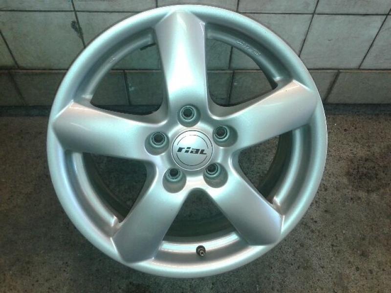 Audi alufælge - Katrinevej - 4 fine Audi alufælge, 16 tommer sælges 500 kr - Katrinevej