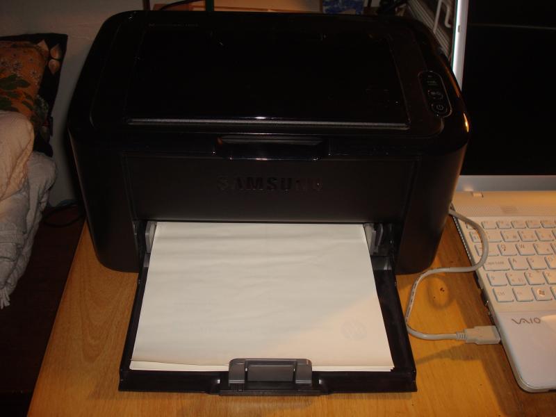 Laserprinter - Furvej 17, Selde - Samsung ML 1665. Printer fint. - Furvej 17, Selde