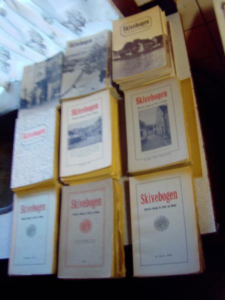Skivebogen 1921 – 2007