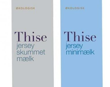 Thise jersey minimælk og skummetmælk