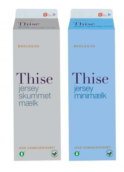 Thise jersey minimælk og skummetmælk