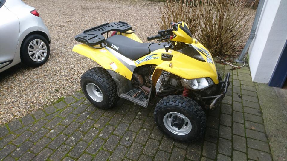 ATV, TRACK 200 RUNNER