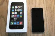 IPhone 5s – Sort