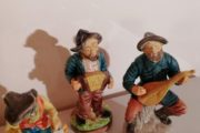 3 spillemands figurer