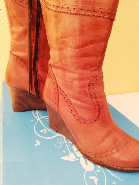 Læder støvler