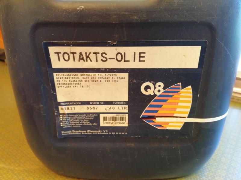 Totakts-olie