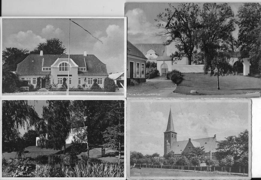 Gamle postkort fra Skive