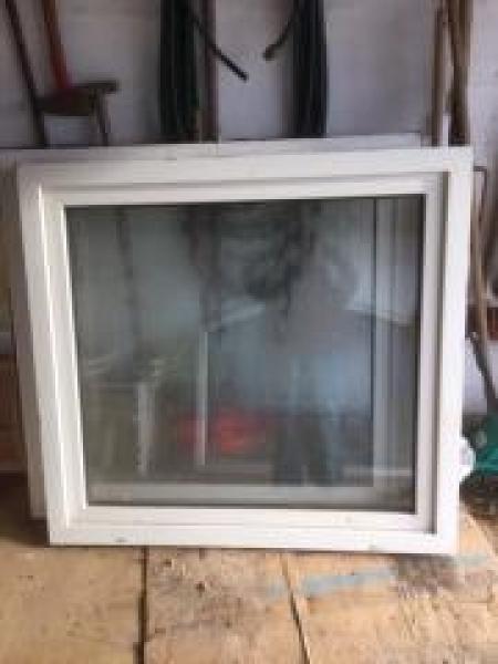 Plast vindue