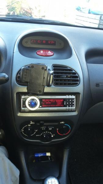 Peugeot 206 1,4 HDI, 5 dørs