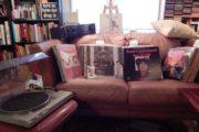 250 LP'er og Gramofon sælges