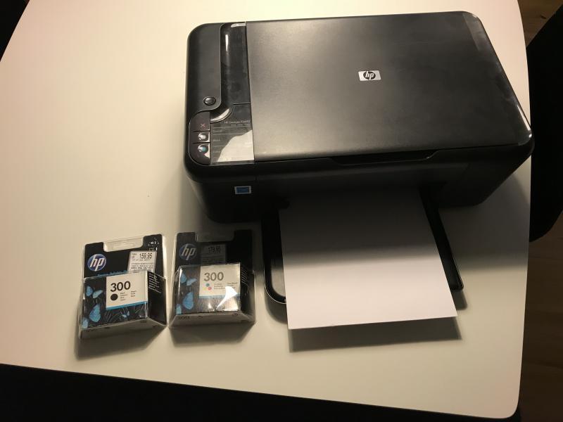 HP Deskjet F2492 printer