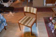 Fastrup spisebordstole sælges