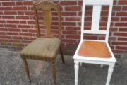 2 gammel stole