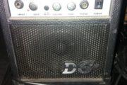 lille el guitar forstærker