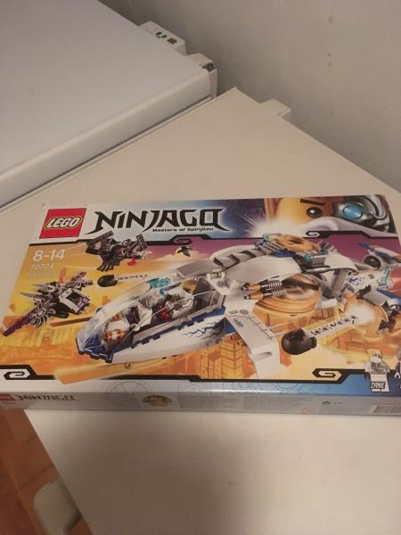 LEGO Ninjago Ninjacopter - Mosrosevej 16 - Stor sæt LEGO Ninjago med mange dele og i original kasse og vejledning ny pris 650 sælges til kun 225 alt tilbehør er tjekket - Mosrosevej 16