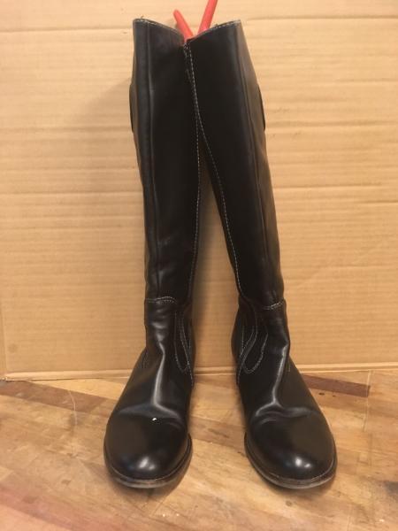 9df54bd3ec66 Læderstøvler - Vesterled 5 - Pæne sorte Billibi læderstøvler str. 40 -  Vesterled 5