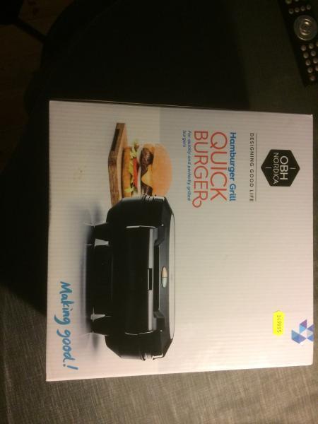 OBH burger gril
