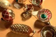 Antik juletræs pynt sælges