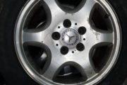 Brugte dæk på fælge sælges
