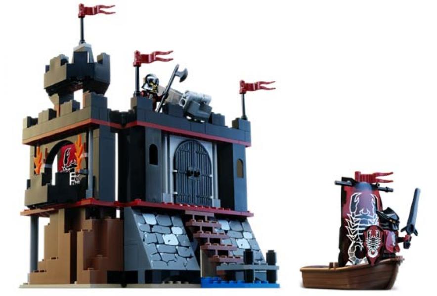 Lego Dark Fortress Landing