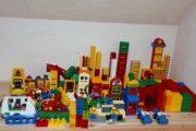 Lego Duplo by ca. 9kg ca. 550
