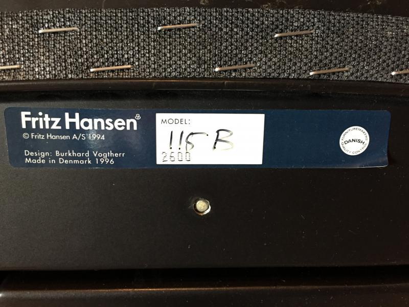 Fritz Hansen Spin kontorstol