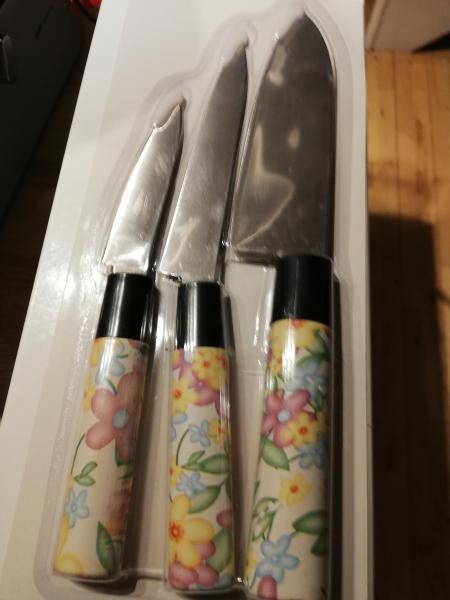 Flot knivsæt sælges