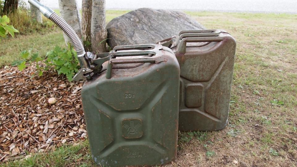 JERRY CAN 20 ltr. flot Army
