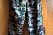 Camouflage bukser
