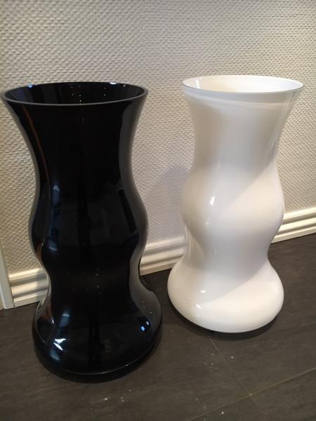 Glasvaser 550 mm høje